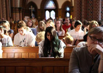 Eucharystia językowa w parafii św. Henryka