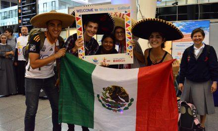 18.07 – przyjazd pielgrzymów z Meksyku