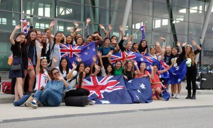 19.07- Przyjazd pielgrzymów z Australii i Kanady