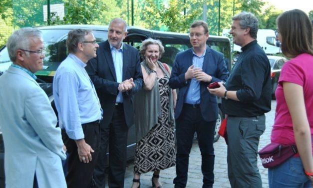 JULY 22ST – President Rafał Dutkiewicz visits the French at school