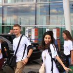 July 20 – The arrival od Canadian pilgrims