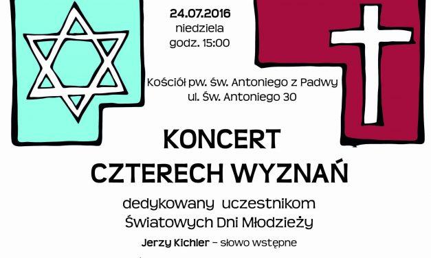 Przez muzykę do jedności – zaproszenie na koncert