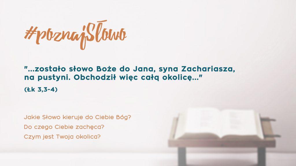 1. #poznajSłowo - 9.12.2018