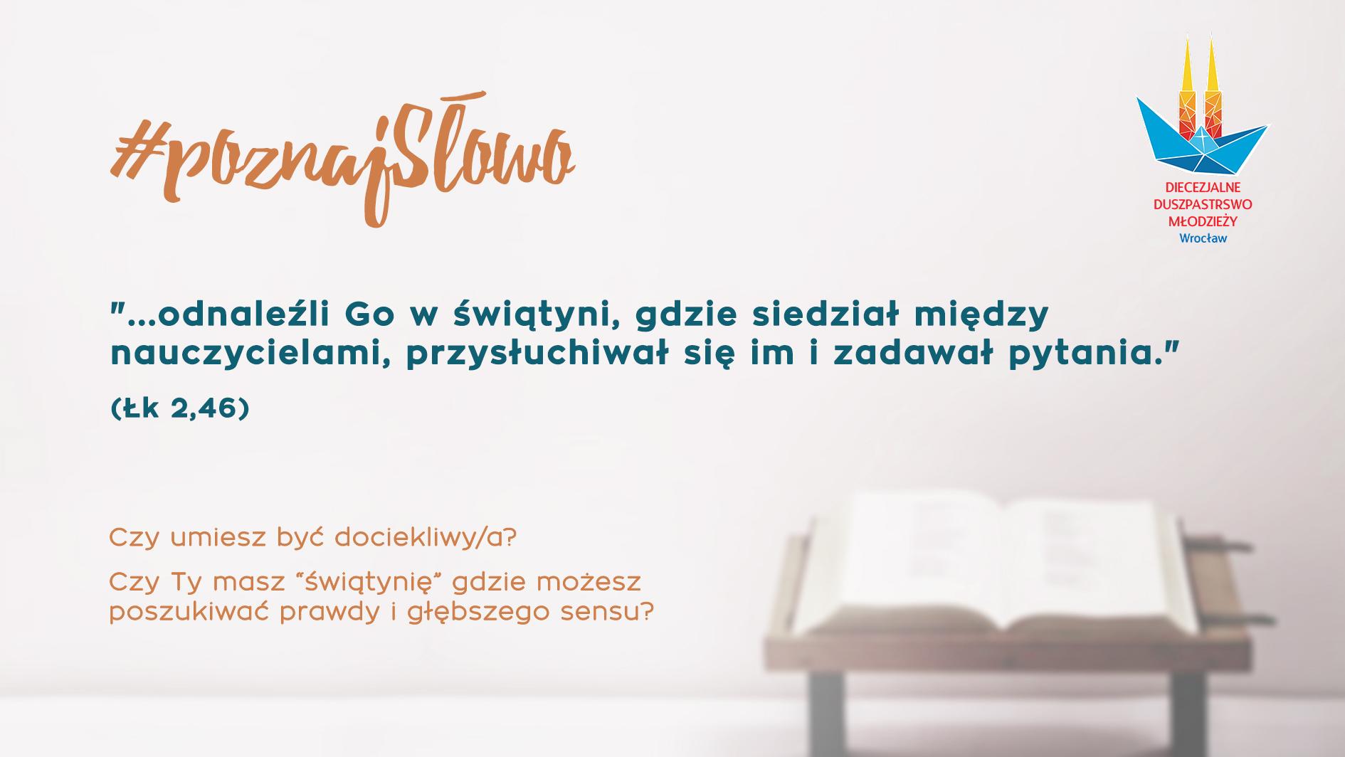 4. #poznajSłowo - Wojtek Selak - 30.12.18