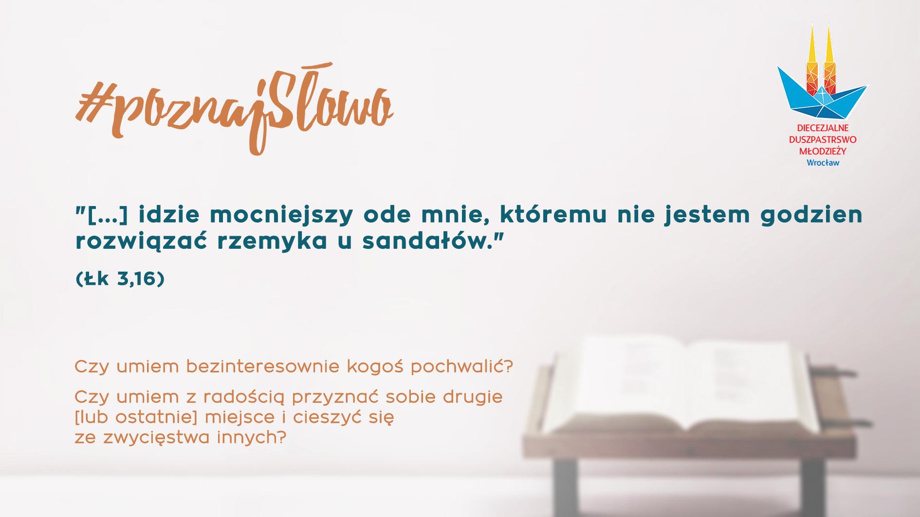 6. #poznajSłowo - Krzyztof Ziora - 13.01.19